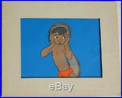Disney Art Corner Jungle Book Original Production Cel