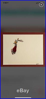 Disney Cel Who Framed Roger Rabbit ORIGINAL PRODUCTION Cell FRAMED