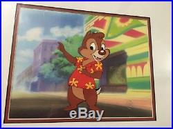 Disney Chip N Dale Original Production Cel Rescue Rangers