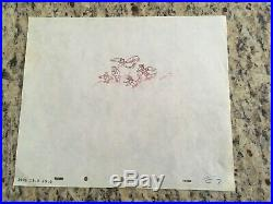 Disney, DUMBO'' CROWS'' Production Cel Pencil Drawing 1941