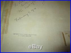 Disney Dumbo Timothy Courvoisier background 1941 Production cel