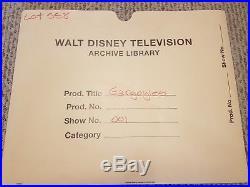 Disney GARGOYLES Production Cel KEY MASTER SETUP CEL With ORIGINAL BACKGROUND