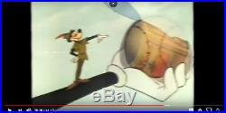 Disney Goofy Peter Pan 1961 Art Corner Original Production cel