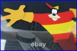 Disney HOCKEY HOMICIDE Goofy Anime Production Cel picture From JP m1159