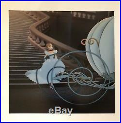 Disney Hand Painted Production Cel From Cinderella Of Bruno The Coachman