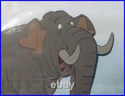 Disney JUNGLE BOOK Colonel Hathi Original Production Cel