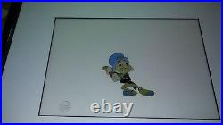 Disney Jiminy Cricket Production Cel