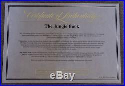 Disney Jungle Book Animated Feature Film Original Production Cel 1967