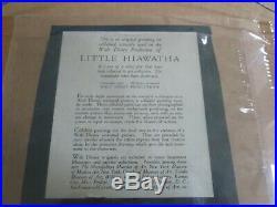 Disney Little Hiawatha Production animation cel 1937 Courvoisier