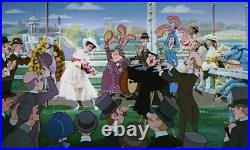 Disney MARY POPPINS Pearlie Band Original Production Cel