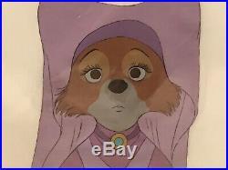 Disney Original Production Animation Cel Robin Hood Maid Marian