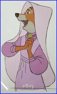 Disney Original Production Animation Cel Robin Hood Maid Marian RARE