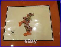 Disney Original Production Cel Art Winnie the Pooh & A Day For Eeyore Tigger