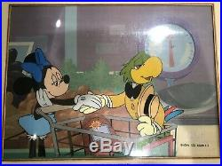 Disney Original Production Cel Of Minnie Mouse From Mickey Mouseworks