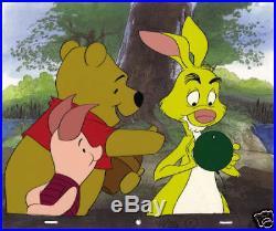 Disney Original Production Cel Winnie The Pooh