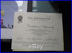 Disney Original Production cel Alice in Wonderland (1951) Dodo and Bill