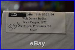 Disney PETE'S DRAGON Elliot Original Production Cel