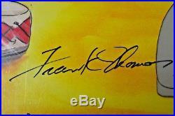 Disney PETER PAN John Original Production Cel with X3 Signatures & CoA
