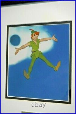 Disney Peter Pan production Cel Cannonball Neverland Art Corner Disneyland