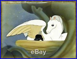 Disney Production Cel on Courvoisier of Mother and Baby Pegasus from Fantasia