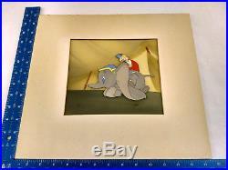 Disney Production Film Cel DUMBO Courvoisier 1941