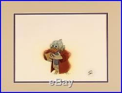 Disney / Scrooge McDuck / Mickey's Christmas Carol original production cel