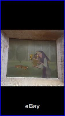 Disney Sleeping Beauty Aurora Original Production Cel Animation