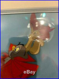 Disney Sleeping Beauty Production Cel Art Corner L@@k