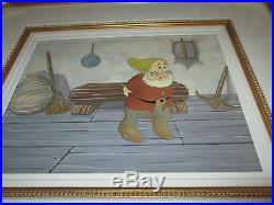 Disney Snow White Doc 1937 Production cel