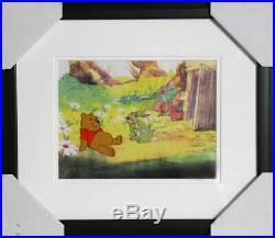 Disney Studios, Seasons Pooh and Rabbit, Production Cel