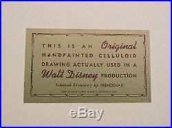 Disney Sword In The Stone Madam Mim and Wart Original Production Cel