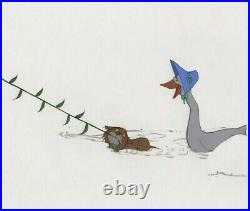 Disney The Aristocats Original Production Cel Thomas O'malley And Abigail Gabble