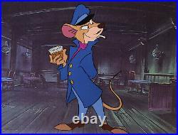 Disney The Great Mouse Detective Original Production Cel-Basil of Baker Street