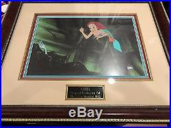 Disney The Little Mermaid Original Authentic Production Cel Screen Used 1989 Coa