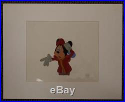 Disney The Prince and the Pauper Mickey Mouse Original Production Cel Seal UF