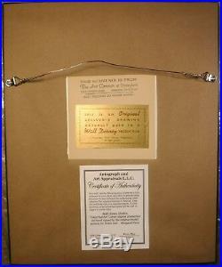 Disney Tinker Bell 1950s original Production cel ART CORNER cel SIGNED New Frame