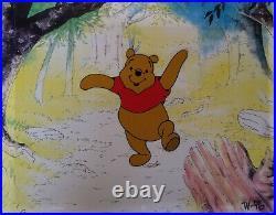 Disney Winnie the Pooh 1980's Original Production Cel