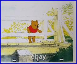 Disney Winnie the Pooh Original Production Cel