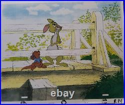 Disney Winnie the Pooh- Rabbit Original Production Cel