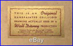 Disney hand painted production cel of Merryweather from Sleeping Beauty 1959