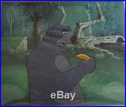 Disney original production cel Jungle Book Baloo