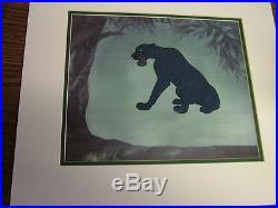 Disney's Jungle Book Bagheera - Original Production cel - 1967