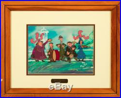 Disney's Mary Poppins Original Production Cel Of The Pearly Band