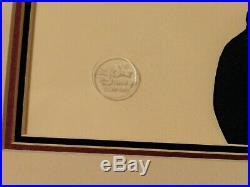 Disney's Prince John & Robin Hood Original Production cel 1973 Disney seal