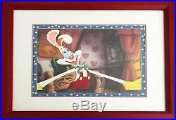 Disney's Roger Rabbit Original Production Cel Who Framed Roger Rabbit