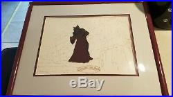 Disney's The Black Cauldron The Horned King Production Cel