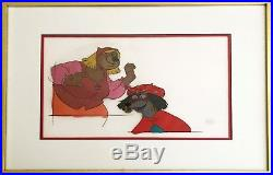 Disney's feature Robin Hood Original hand painted production Cel