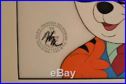Disney the Wuzzles Tycoon Original Production Cel 1985 Rare