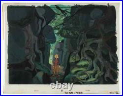DisneySword and the Stone 1963 Original Production Cel Key Set Up on OBG-Wart