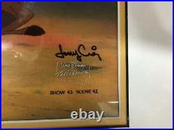 Disneys Lion King TIMON PUMBAA ORIGINAL CEL ART Walt TV Production + COA